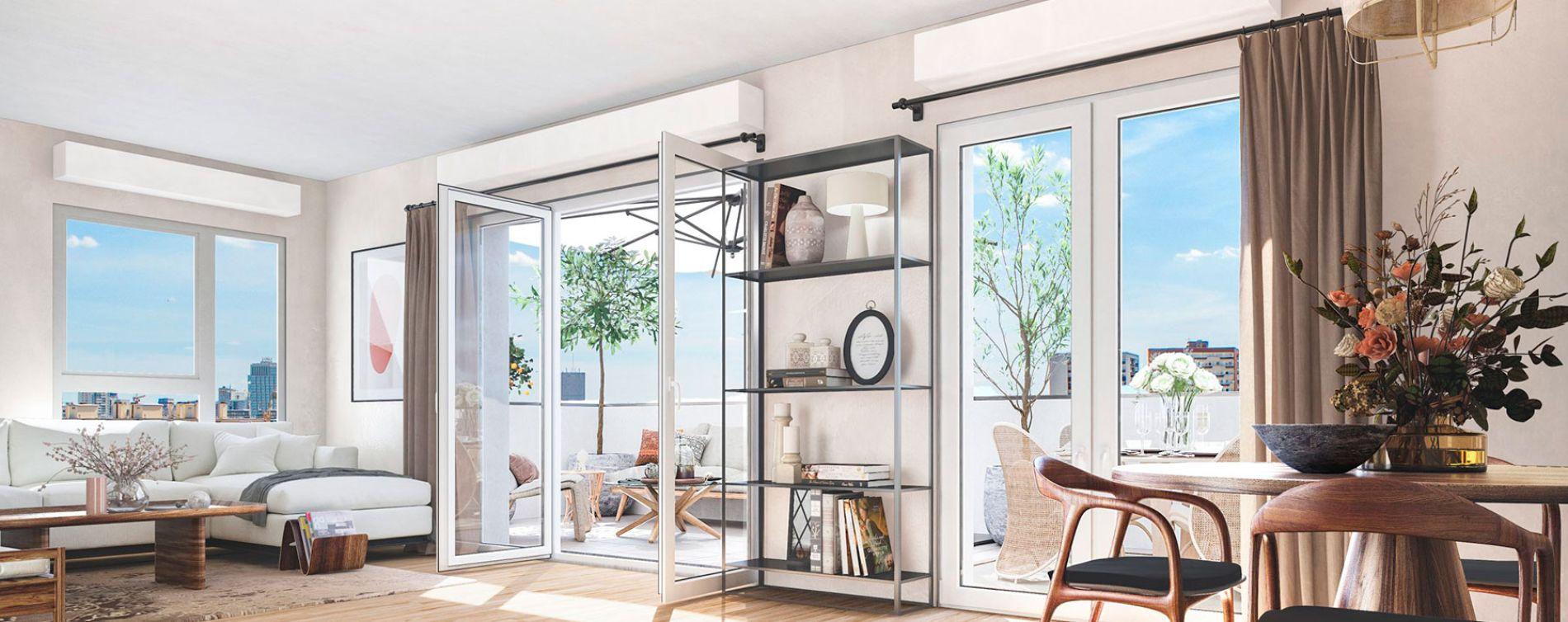 Clichy : programme immobilier neuve « Rose Guérin »