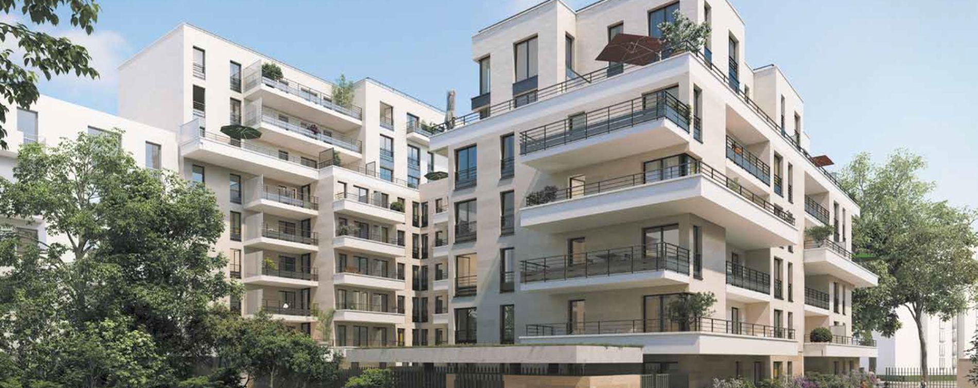 Clichy programme immobilier neuve « Square des Bateliers »
