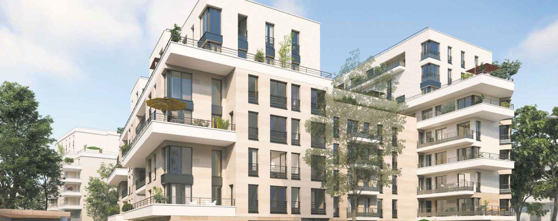 Clichy programme immobilier neuve « Square des Bateliers »  (2)