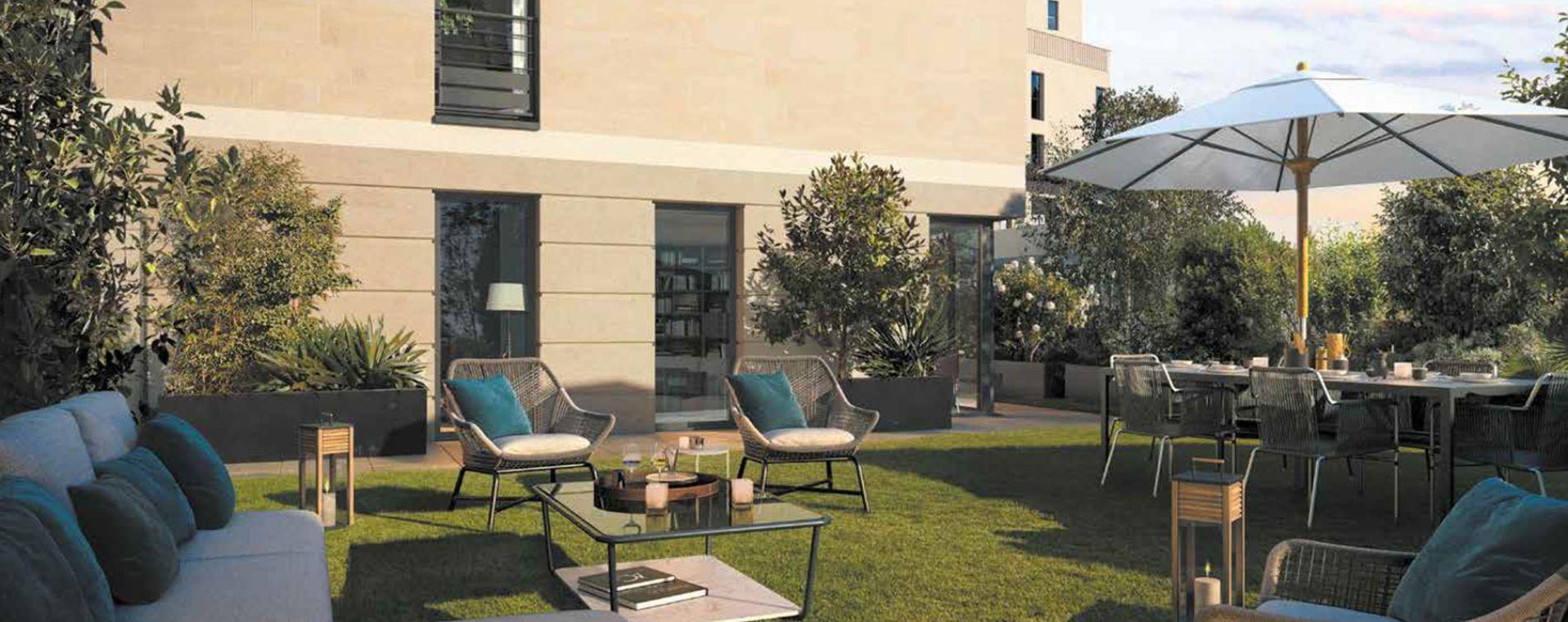 Clichy programme immobilier neuve « Square des Bateliers »  (3)