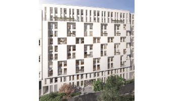 Photo du Résidence « Stud'In Rose Guérin » programme immobilier neuf à Clichy