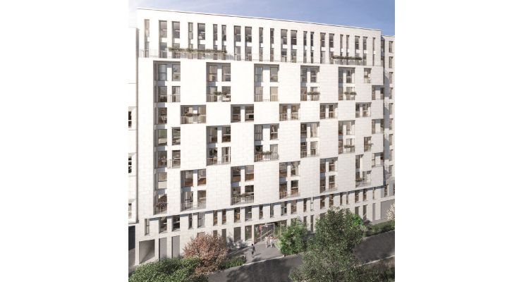 Clichy : programme immobilier neuf « Stud'In Rose Guérin »