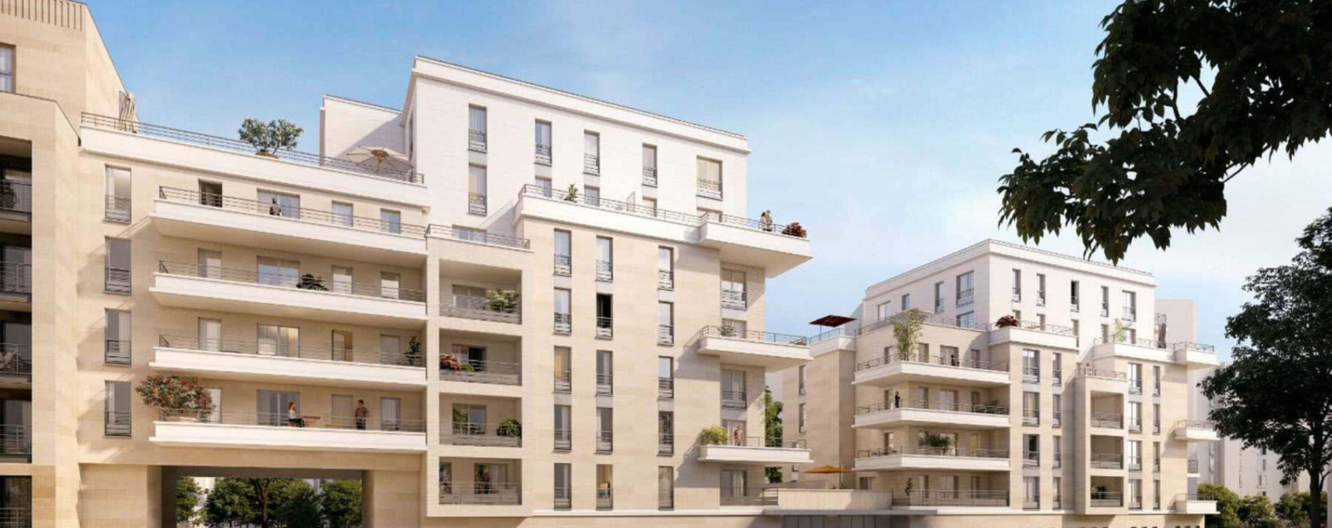 Clichy : programme immobilier neuve « Terrasses en Ciel »
