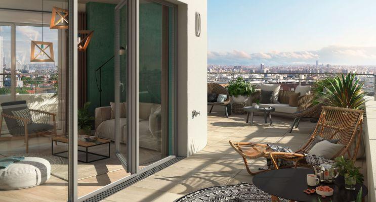 Colombes programme immobilier neuf « Domaine Saint Georges » en Loi Pinel