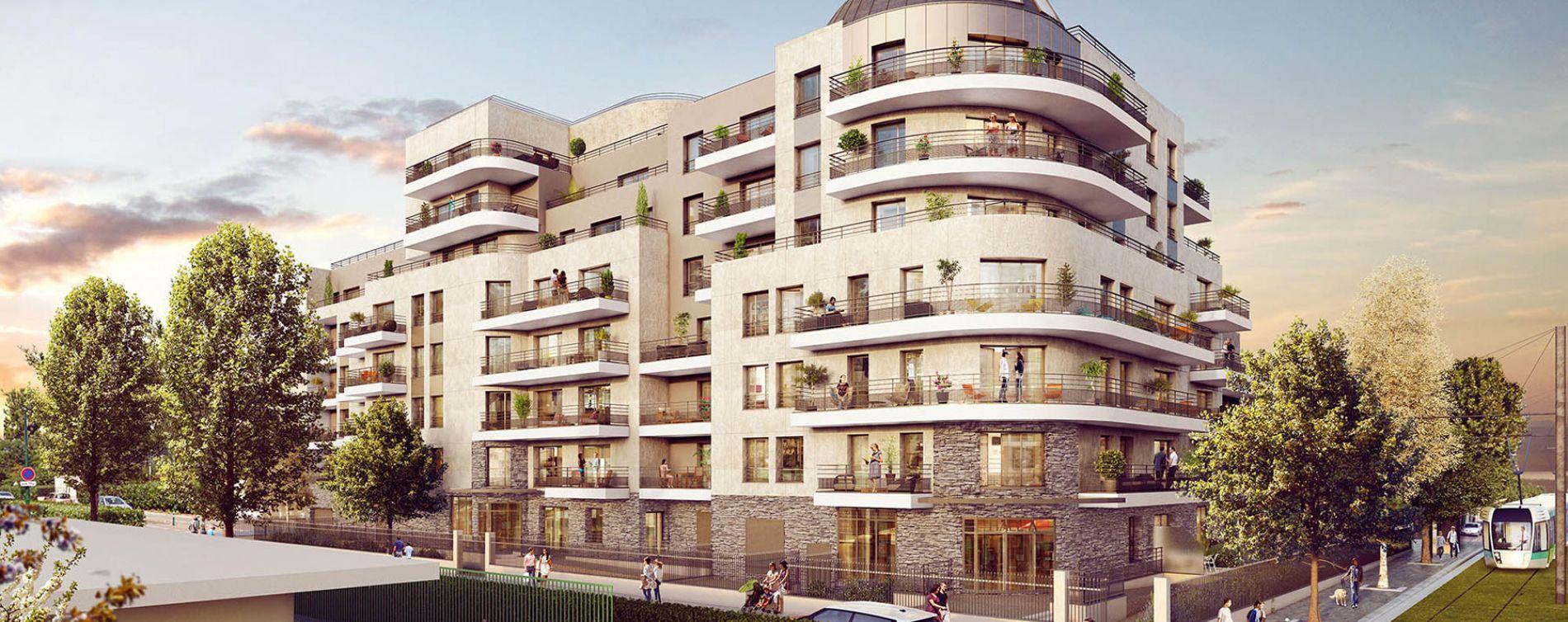 Colombes : programme immobilier neuve « L'Amour est une Résidence Principale »