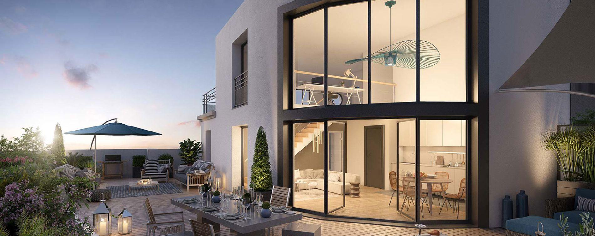 Colombes : programme immobilier neuve « Le Paradis n'est pas Artificiel » en Loi Pinel