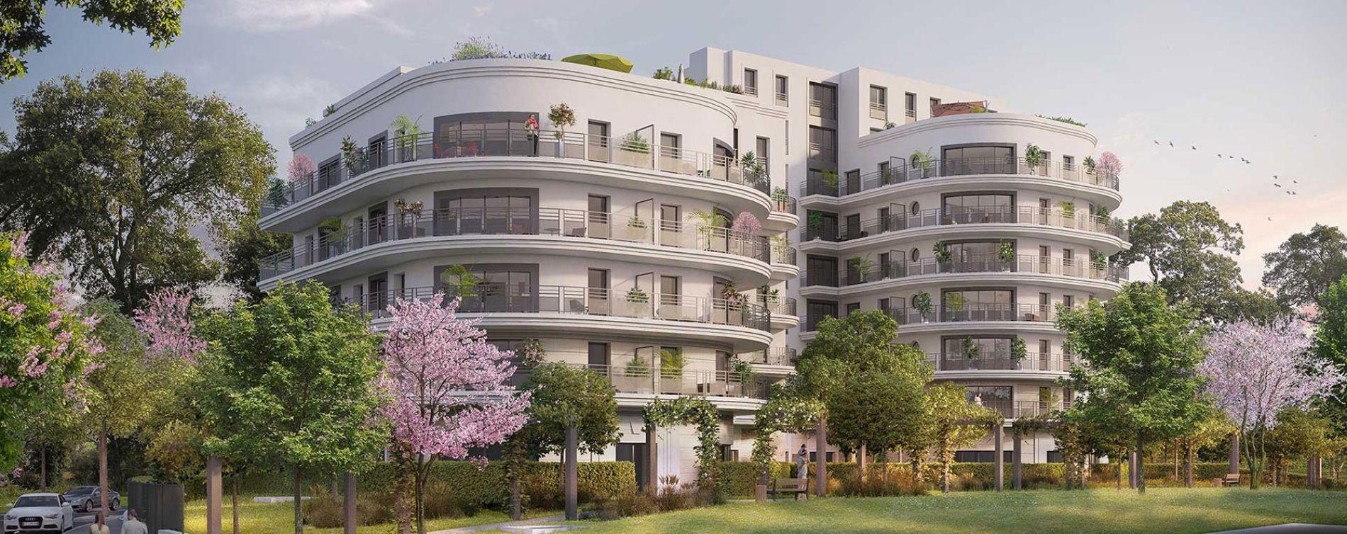 Colombes : programme immobilier neuve « Le Paradis n'est pas Artificiel » en Loi Pinel (2)