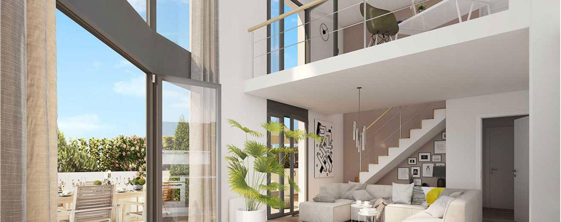 Colombes : programme immobilier neuve « Le Paradis n'est pas Artificiel » en Loi Pinel (3)