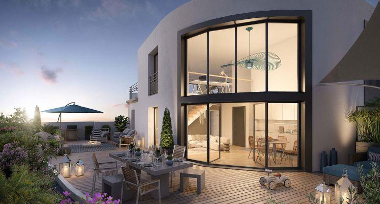 Colombes : programme immobilier neuf « Le Paradis n'est pas Artificiel » en Loi Pinel