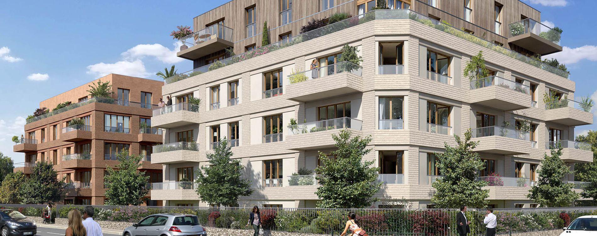 Colombes : programme immobilier neuve « Programme immobilier n°219355 » en Loi Pinel