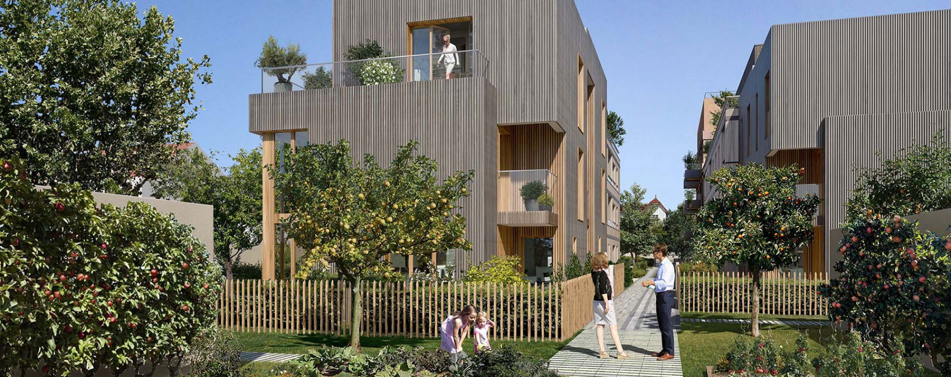 Colombes : programme immobilier neuve « Programme immobilier n°219355 » en Loi Pinel (4)