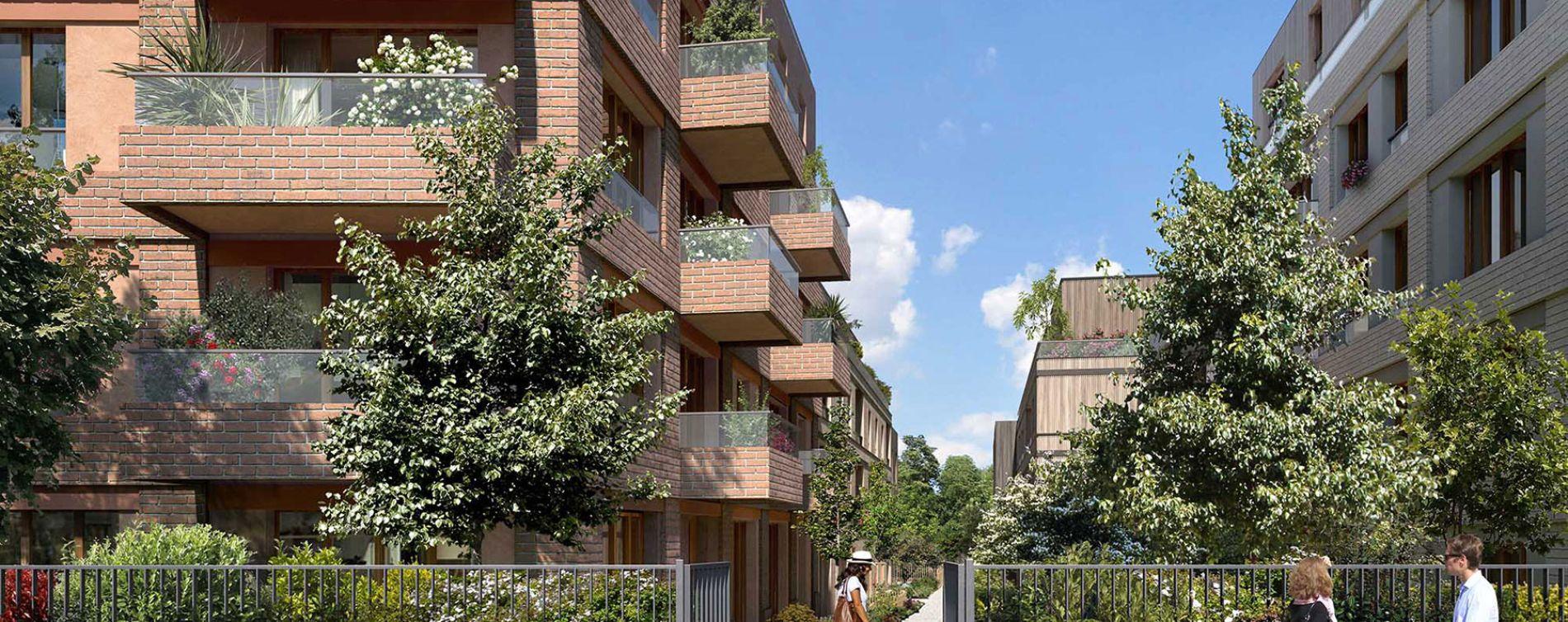 Colombes : programme immobilier neuve « Programme immobilier n°219355 » en Loi Pinel (5)