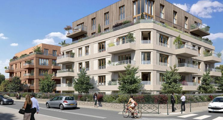 Colombes programme immobilier neuf « Les Terrasses Bel Air