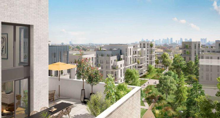 Résidence « Ovation Magellan » programme immobilier neuf en Loi Pinel à Colombes n°3