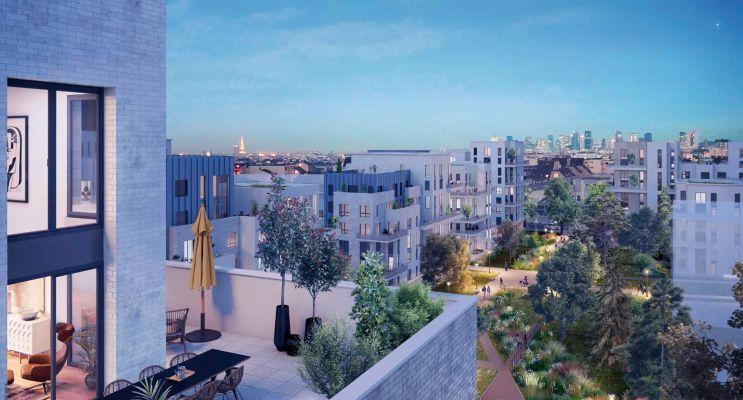 Résidence « Ovation Magellan » programme immobilier neuf en Loi Pinel à Colombes n°4