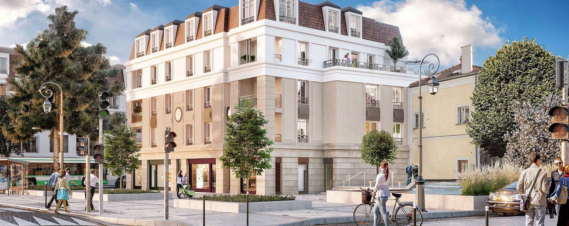 Fontenay-aux-Roses : programme immobilier neuve « Solstice »