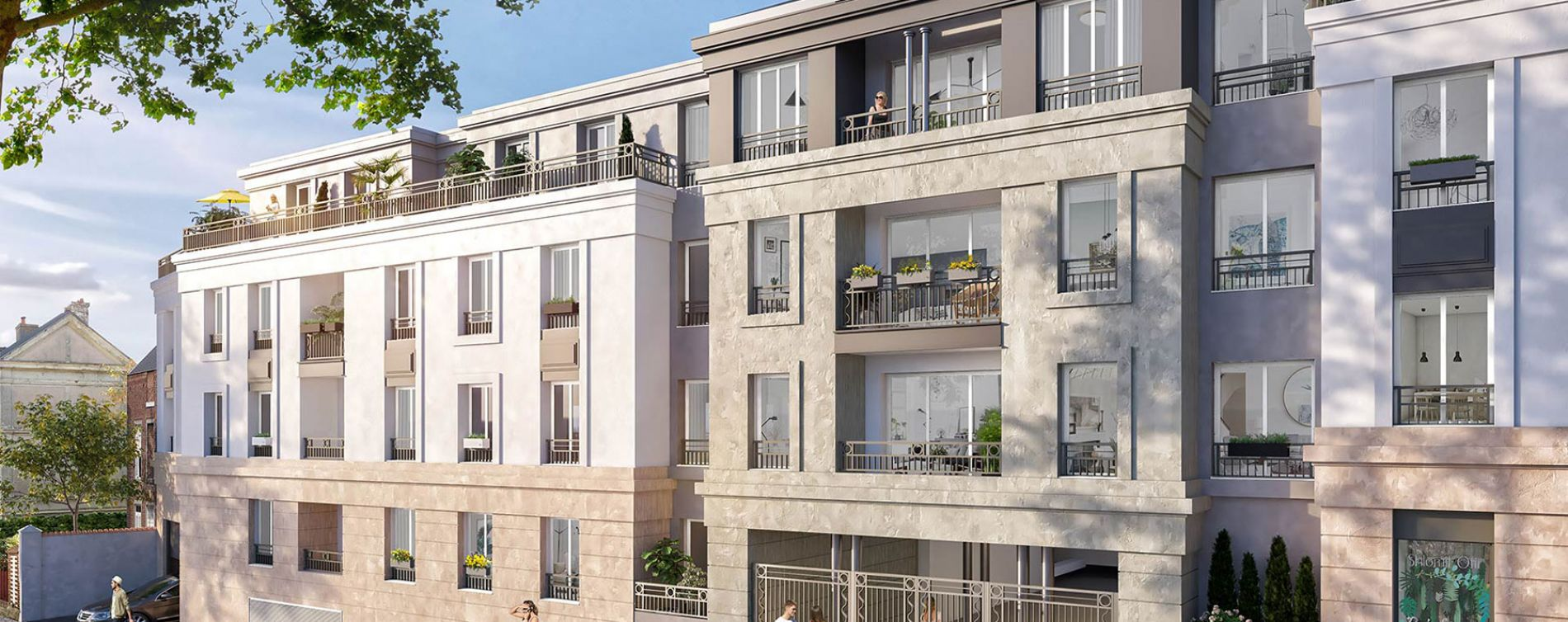 Fontenay-aux-Roses : programme immobilier neuve « Solstice » (2)
