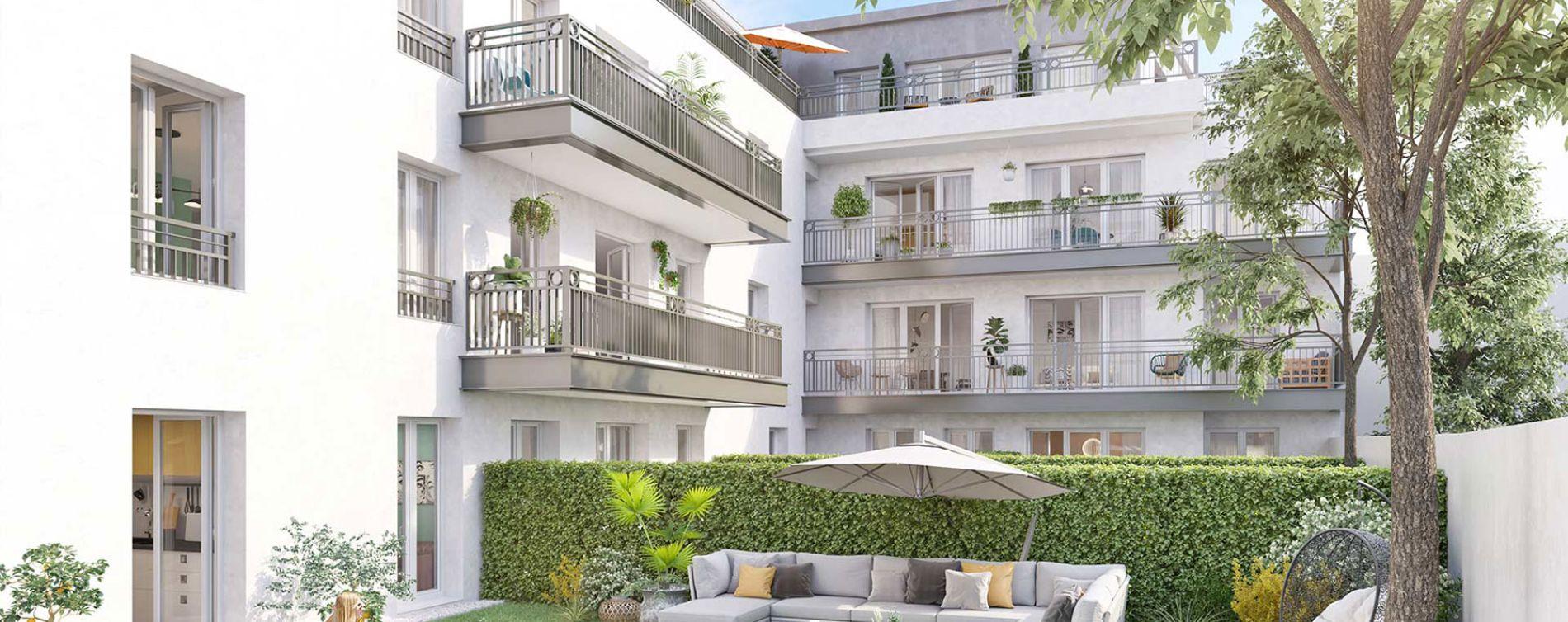 Fontenay-aux-Roses : programme immobilier neuve « Solstice » (4)