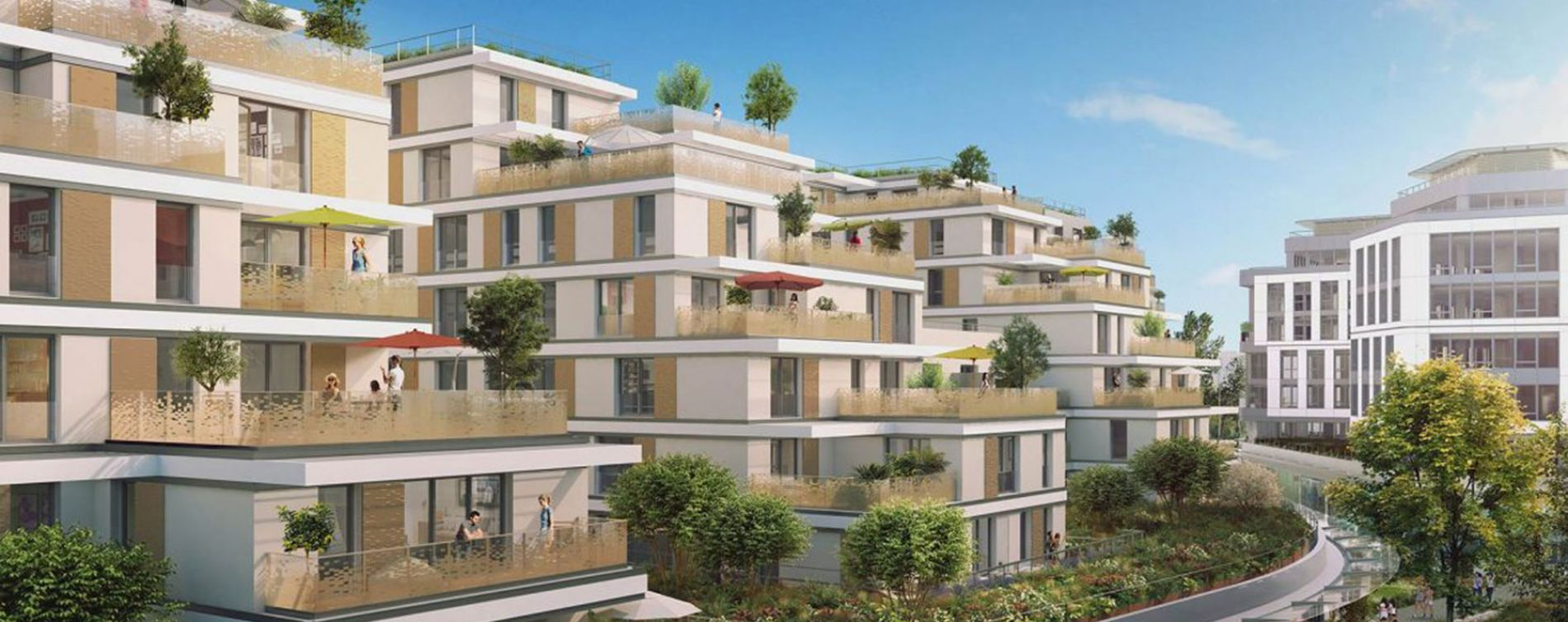 Issy-les-Moulineaux : programme immobilier neuve « Issy Coeur de Ville » en Loi Pinel