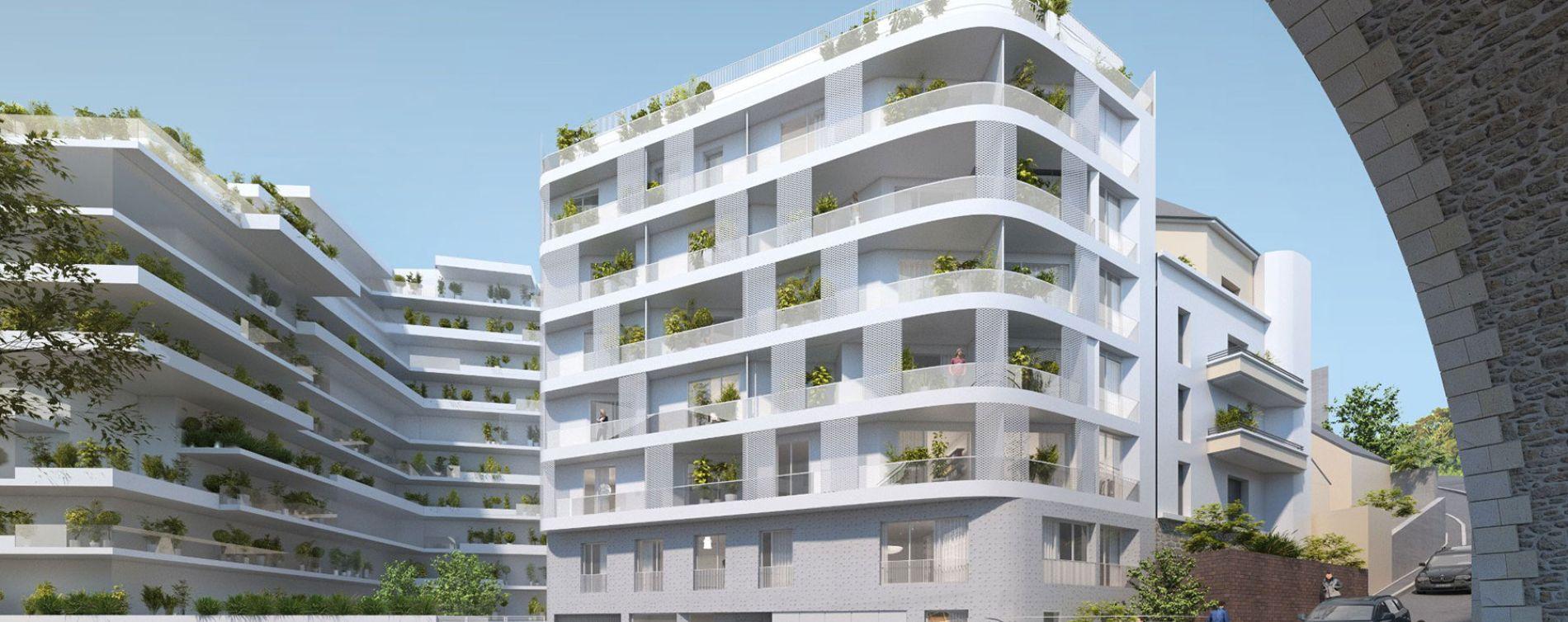 Issy-les-Moulineaux : programme immobilier neuve « Sonatina » en Loi Pinel (2)