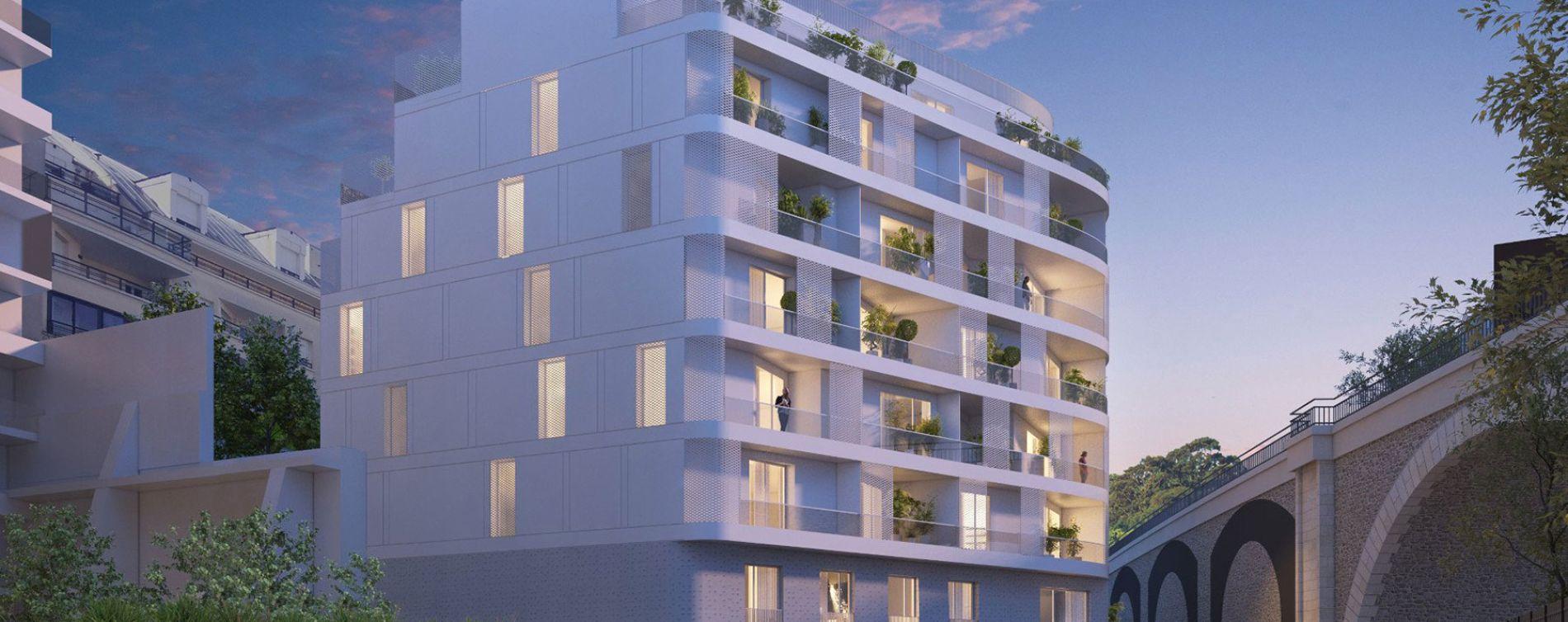 Issy-les-Moulineaux : programme immobilier neuve « Sonatina » en Loi Pinel (3)