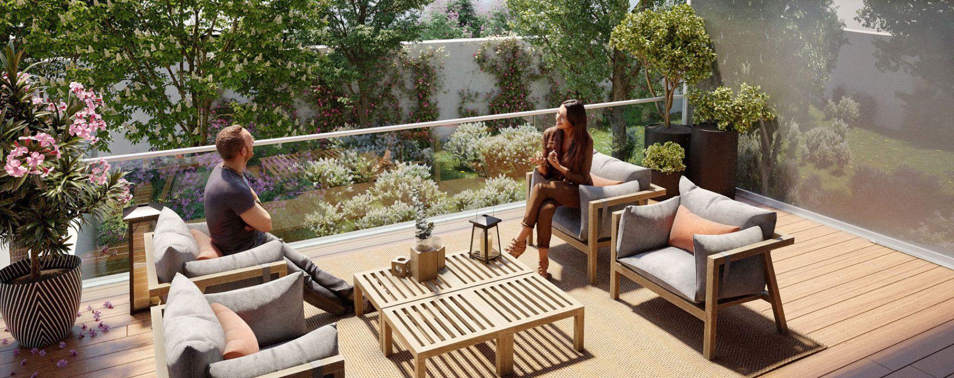 Issy-les-Moulineaux : programme immobilier neuve « Sonatina » en Loi Pinel (4)