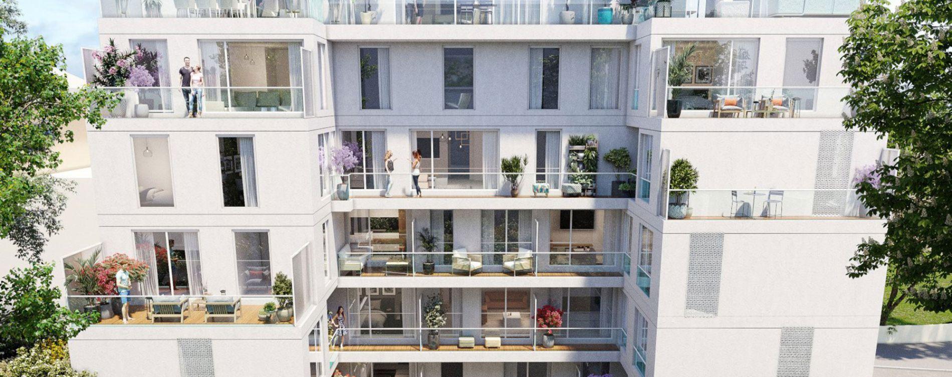 Issy-les-Moulineaux : programme immobilier neuve « Sonatina » en Loi Pinel (5)