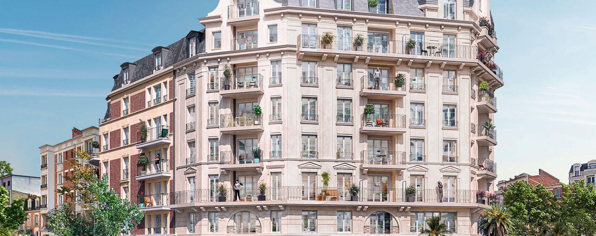 La Garenne-Colombes : programme immobilier neuve « Carré Foch » en Loi Pinel (2)