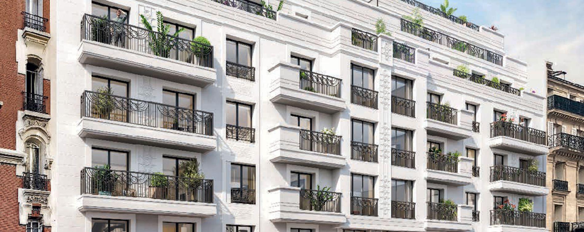Levallois-Perret : programme immobilier neuve « 45 Chaptal » en Loi Pinel
