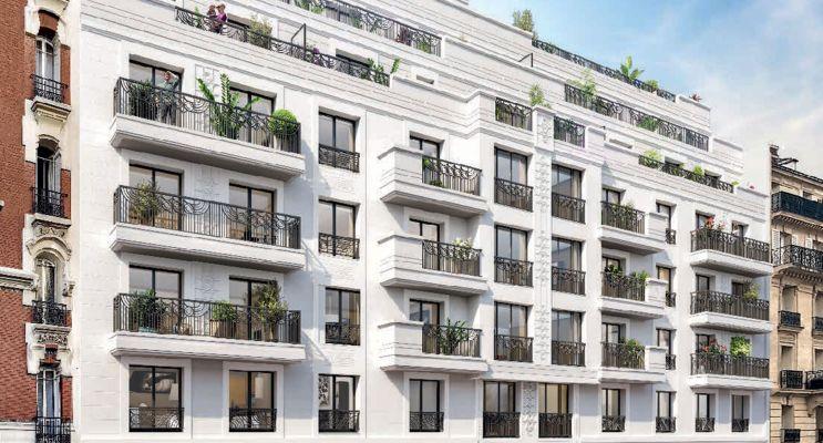 Levallois-Perret : programme immobilier neuf « 45 Chaptal » en Loi Pinel