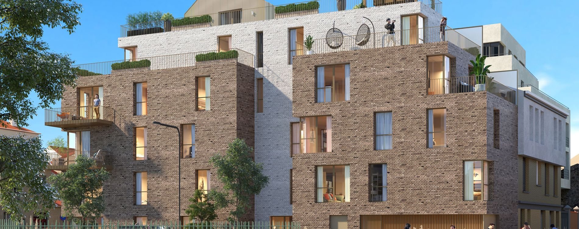 Malakoff : programme immobilier neuve « 29 Renan »