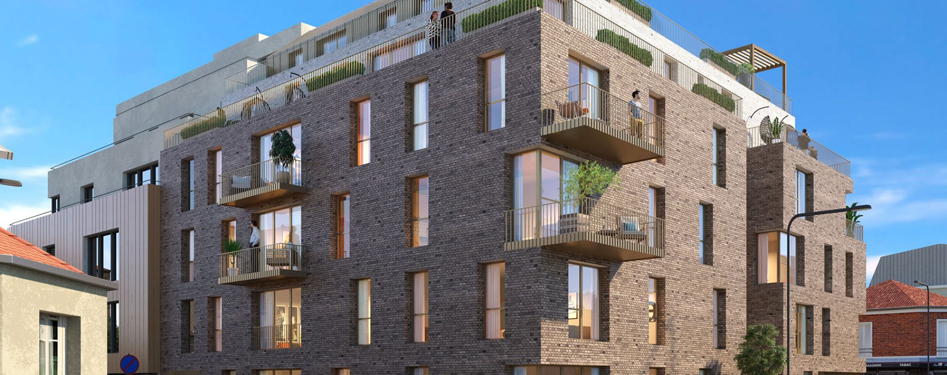 Malakoff : programme immobilier neuve « 29 Renan » (2)