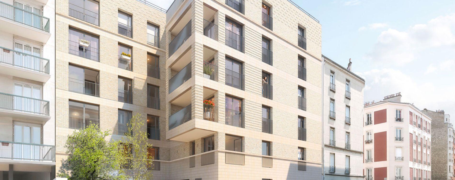 Montrouge : programme immobilier neuve « Cityzen »
