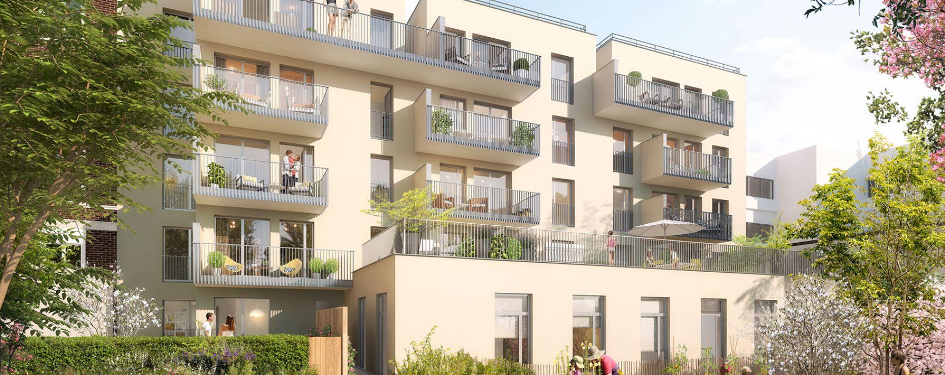 Montrouge : programme immobilier neuve « Cityzen » (3)