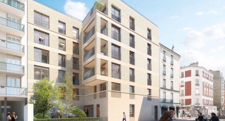 Résidence « Cityzen » programme immobilier neuf en Loi Pinel à Montrouge n°1