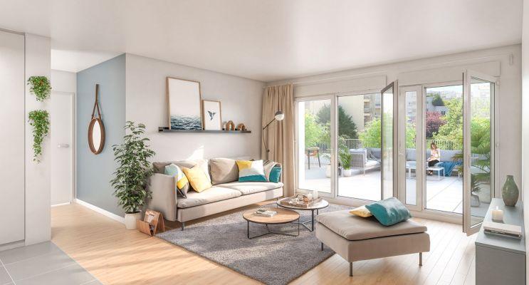 Résidence « Cityzen » programme immobilier neuf en Loi Pinel à Montrouge n°5
