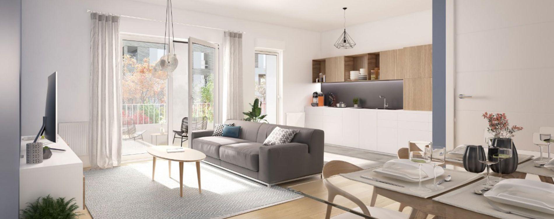 Nanterre : programme immobilier neuve « Allée du Colonel Fabien » en Loi Pinel (4)
