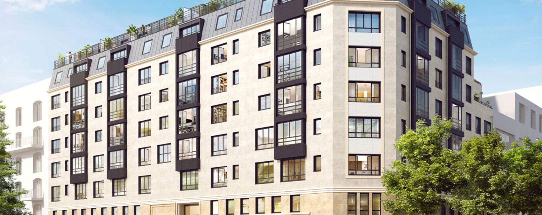 Neuilly-sur-Seine : programme immobilier neuve « Le Carré des Lumières » en Nue Propriété