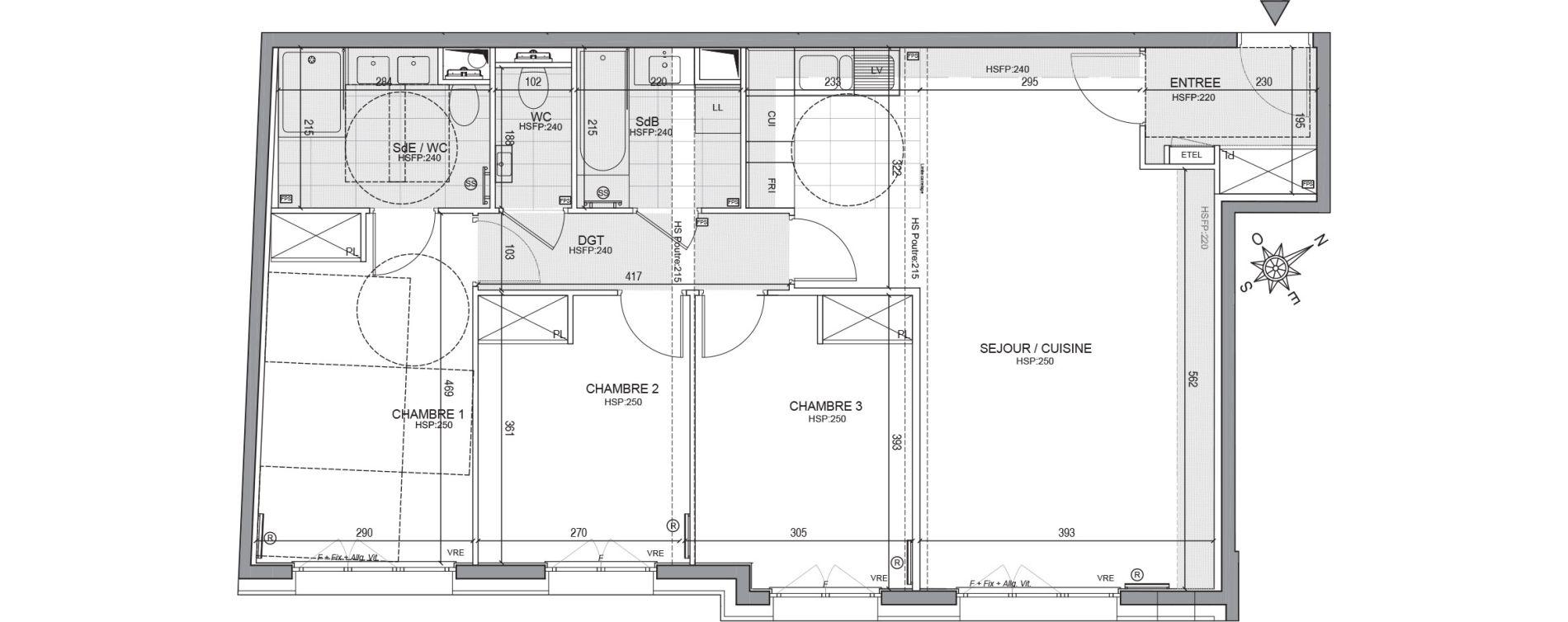 Appartement T4 de 87,51 m2 à Neuilly-Sur-Seine Centre
