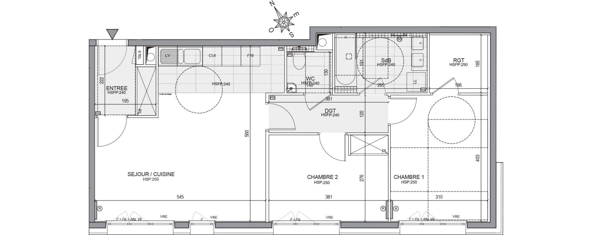 Appartement T3 de 68,48 m2 à Neuilly-Sur-Seine Centre