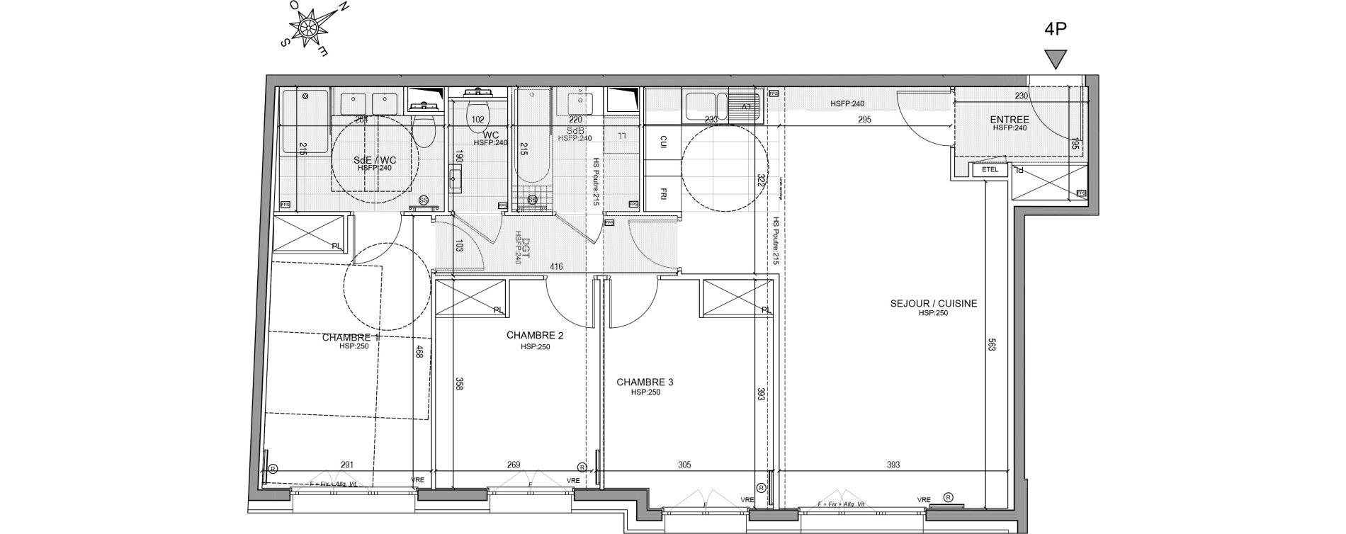 Appartement T4 de 87,47 m2 à Neuilly-Sur-Seine Centre