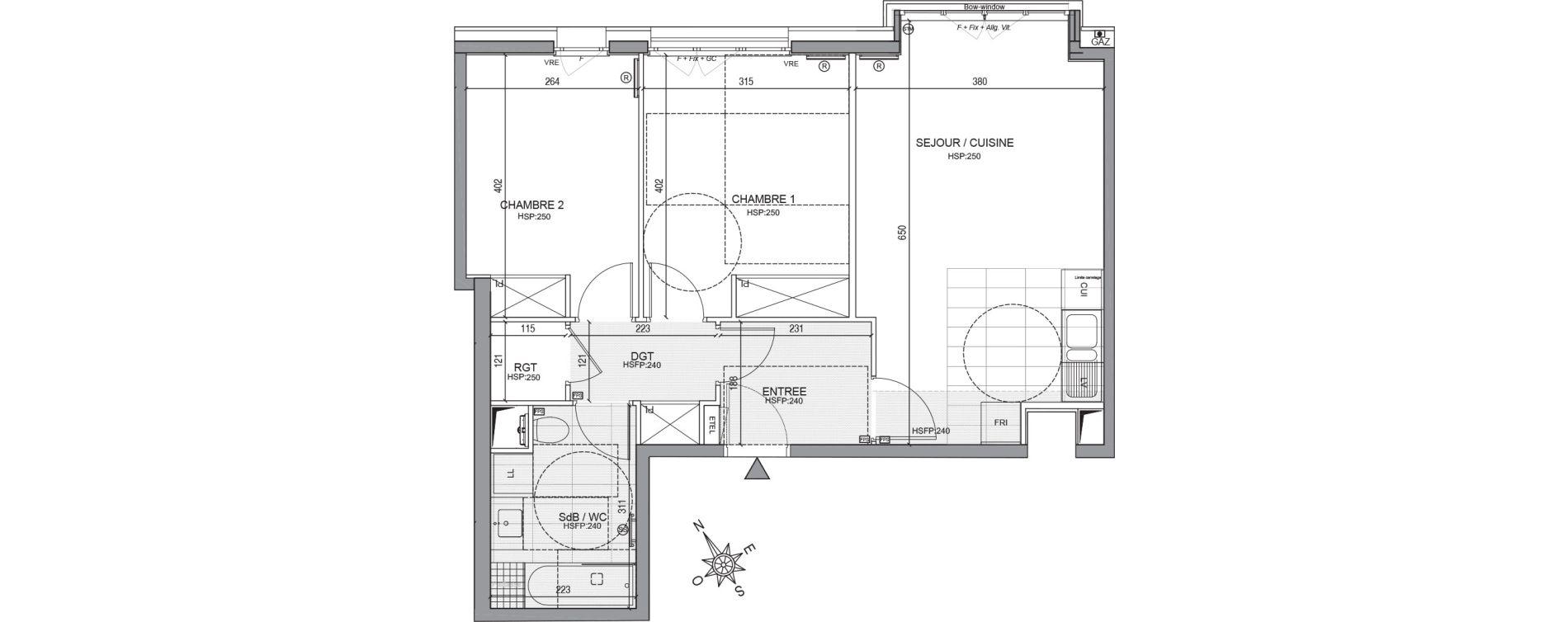 Appartement T3 de 60,37 m2 à Neuilly-Sur-Seine Centre