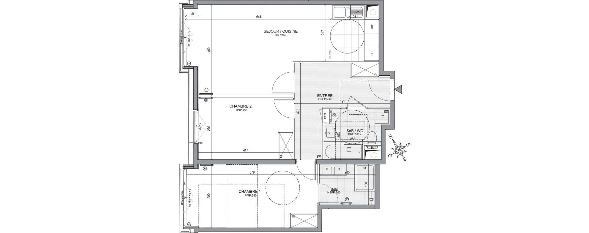 Appartement T3 de 74,35 m2 à Neuilly-Sur-Seine Centre