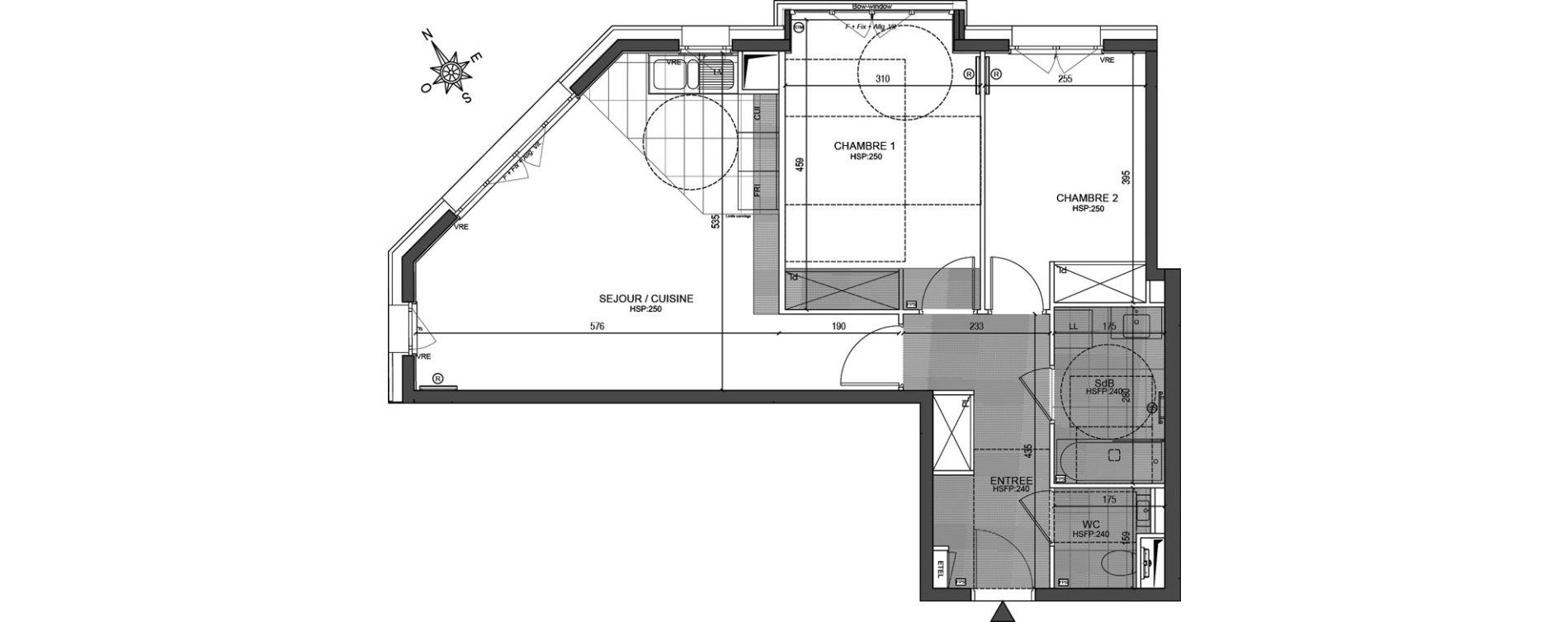 Appartement T3 de 66,00 m2 à Neuilly-Sur-Seine Centre