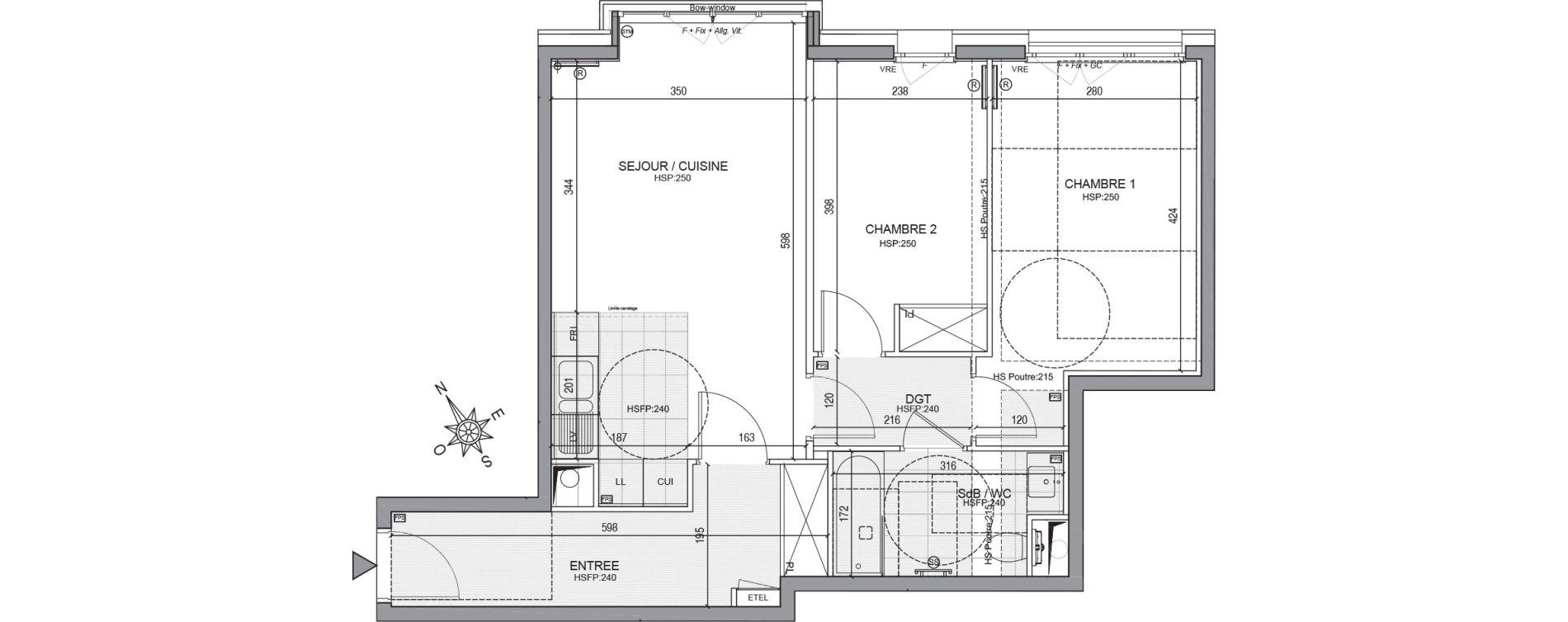Appartement T3 de 59,31 m2 à Neuilly-Sur-Seine Centre