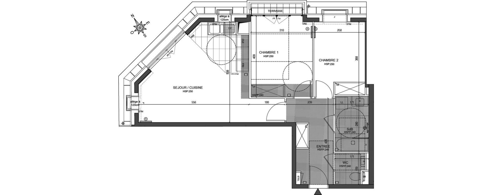 Appartement T3 de 61,41 m2 à Neuilly-Sur-Seine Centre