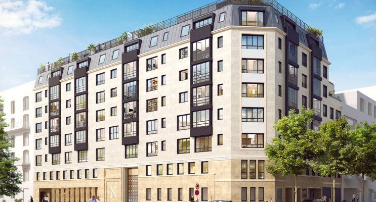 Photo du Résidence « Le Carré des Lumières » programme immobilier neuf en Nue Propriété à Neuilly-sur-Seine