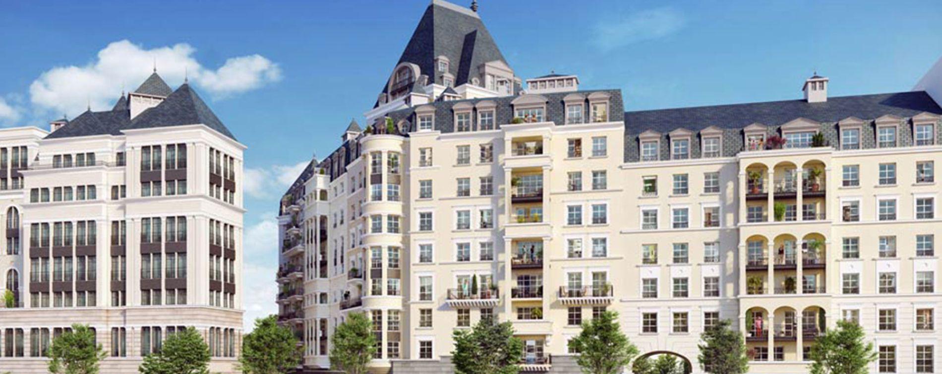 Puteaux : programme immobilier neuve « L'Orangerie » (2)