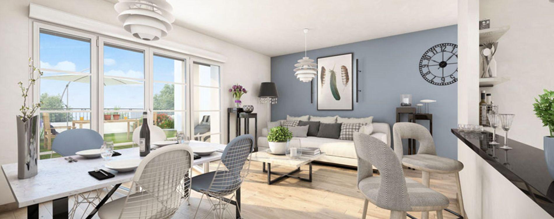 Puteaux : programme immobilier neuve « L'Orangerie » (3)