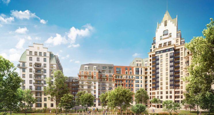 Photo du Résidence « Sublime » programme immobilier neuf en Loi Pinel à Puteaux